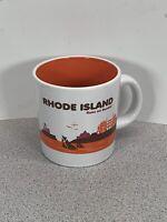 Dunkin Donuts Rhode Island Runs On Dunkin 2013 Coffee Mug EUC
