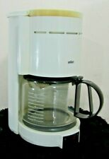Vintage Braun Aromaster White 10 Cup Coffee Maker Type 4057 Germany