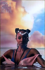 JAMILA WOODS Heavn 2017 Ltd Ed RARE Poster +FREE Pop Poster! CHANCE THE RAPPER