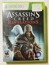 Assassin's Creed: Revelations (Xbox 360) -W/ Manual & Tested- FAST SHIPPING