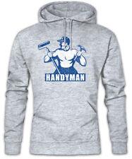 Handyman III Hoodie Kapuzenpullover Heimwerker Handwerker Handwerk Hammer