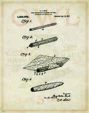 Cigar Patent Poster Art Print Humidor Box Shops Cuban Lighter Ashtray PAT89