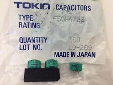 (10 pcs) FS0H473Z - Tokin, .047F  5.5v Supercapacitor(Memory Back-Up Capacitor)