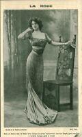 Publicité ancienne mode modèle de la maison Laferrière 1908 issue de magazine