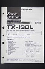 Pioneer TX-130L Manuel de Service / Circuit Descriptions Réparation &