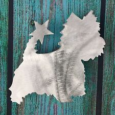 West Highland Terrier, Star, Christmas, Dog Tree Topper or Wreath Decor, Westie