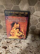 Crouching Tiger, Hidden Dragon - Dvd By Chang Chen - Very Good Free Ship