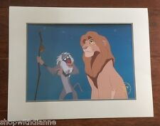 Disney Store Exclusive 14 x 11 Lion King Commemorative Litho 1995 with envelope