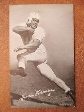 1948 Exhibit Football Card Herman Wedemeyer Baltimore Colts LA Dons Hawaii **