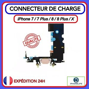 CONNECTEUR DE CHARGE + MICRO NAPPE DOCK iPhone  7 / 7 PLUS 8 / 8 PLUS / X
