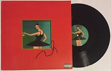 KANYE WEST SIGNED MY BEAUTIFUL DARK TWISTED FANTASY 3X LP VINYL RECORD YEEZUS