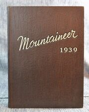"Annual Yearbook ""Mountaineer"" Blue Mountain College Mississippi 1939"
