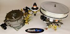 V8 CNG CONVERSION KIT W/ THROTTLE PLATE SMALL BIG BLOCK 350 383 454 NATURAL GAS