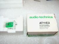AUDIO TECHNICA AT11E2 CARTRIDGE ORG STYLUS NEW IN BOX