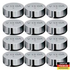 10 X Taste Knopfzellen Uhrenbatterie Batterie Alkalische AG13 357 LR44 A76 iGRYp