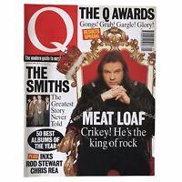 Q Magazine Meat Loaf The Smiths Morrissey INXS Rod Stewart Chris Rea 1994 Jan
