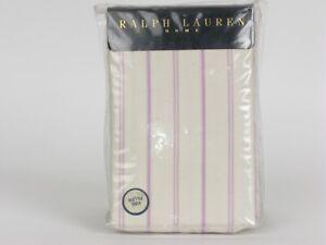Ralph Lauren GISELLE STRIPE St Remy Solange King Pillowcases NIP