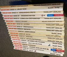 Wissen ist Was Büchersammlung 19 Bände Kinder Bildung Nachschlagewerke
