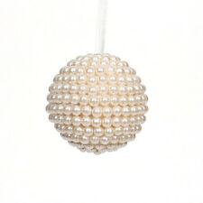 Darice Christmas Pearl Beaded Ornament: 3.15 inches w