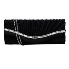 Stylish Women Rhinestone Handbag Evening Party Clutch Bag Wedding Wallet Purse