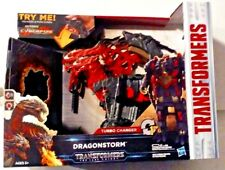 Transformers The Last Knight Mega 1 Step Turbo Changer Dragonstorm New MISB