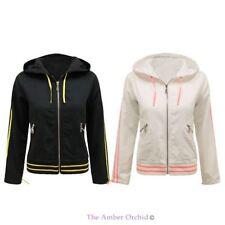 Cotton Biker Jackets Hood for Women