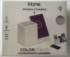 iHome Wireless Charging Color Stand Wireless Charging Dock iPhone and Android
