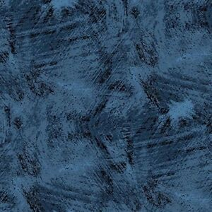 Andover Winter Moons A 8519 B Midnight Texture BTY FREE US SHIPPING
