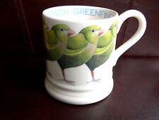 Emma Bridgewater Mug Greenfinch Half Pint New Rare Out Of Production Finches