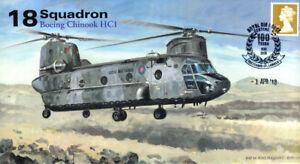 AV600 No 18 Squadron RAF Boeing Chinook Falklands War cover 100th RAF pmk