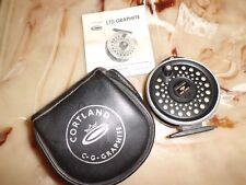 Cortland LTD Graphite Single Action Fly Reel made in England