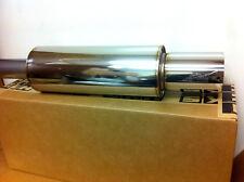 """Universal HKS Turbo Racing Stainless Hi-Power Muffler Exhaust 170mm & 3"""" Pipe"""