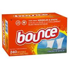 Bounce Outdoor Fresh Fabric Softener 240 count