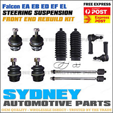 Falcon EA EB ED EF EL FRONT Up+Low Ball Joint Rack End Rack Boot Tie Rod End Kit