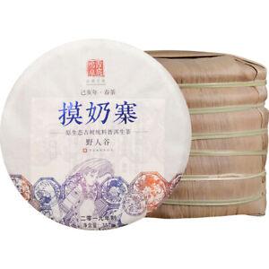 2019 spring Yunnan mo nai valley qizi Pu erh Tea UnCooked Cake,China pu er tee