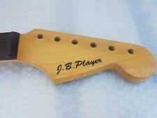 80's JB PLAYER STR*T ROSEWOOD NECK - FLAT RADIUS