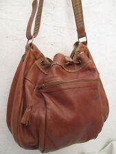 -AUTHENTIQUE grand  sac à main ENNY cuir TBEG vintage  BAG 70's