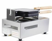 Commercial Nonstick Electric French Hot Dog Stick Waffle Maker Iron Machine B
