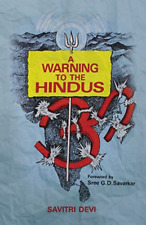 A Warning to the Hindus by Savitri Devi Softcover / Paperback Book