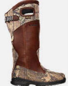 "Lacrosse 425620 8-1/2W 18""  Adder Pullon Snake Boot Size 8 1/2 Wide 13373"