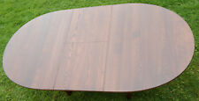 ERCOL SAVILLE 4, 6 or 8 seat extending dining table type 926