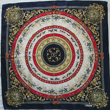 -Superbe Foulard  NICOLE St GILLES 100% soie  TBEG  vintage scarf