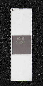 Signetics CP10041  Date Code: 1978 Mfg On White Ceramic Untested Looks Very Good