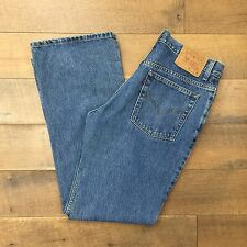 LEVIS Vintage 517 Slim Fit Jeans Boot Cut High Waist Red Tab Womens Size 13 JR M