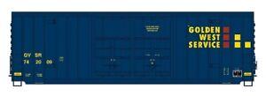 N InterMountain 6134002-02 Golden W Ser GVSR  50' Gunderson DD High Cube Boxcar