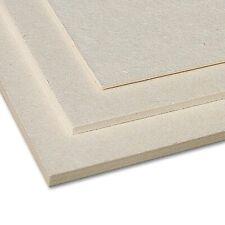 (9,60€/m²) Finnpappe A4 - 1,0 mm - 10er Pack Finnische Holzpappe 500g/m², beige