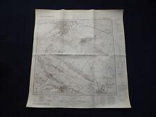 Landkarte Meßtischblatt 4132 Halberstadt, Harsleben, Westerhausen, von 1942