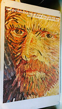Vintage Vincent Van Gogh Exhibition Poster Expo Advertisement Malmo Sweden 1975