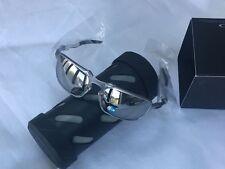 NEW Oakley BADMAN X Ti Chrome Iridium Polarized Sunglasses OO6020-05
