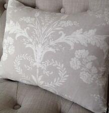 """12x16""""  Laura Ashley cushion cover Josette dove grey & Austen dove grey reverse"""